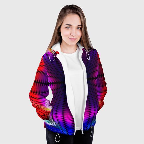Женская куртка 3D  Фото 04, Оптические узоры