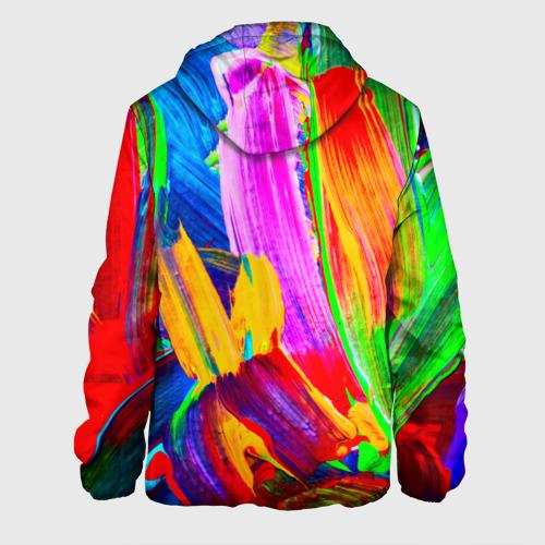 Мужская куртка 3D  Фото 02, абстракция красок