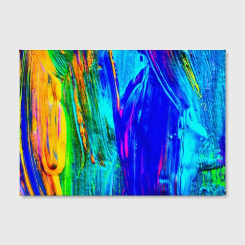Холст прямоугольный  Фото 02, Разводы красок