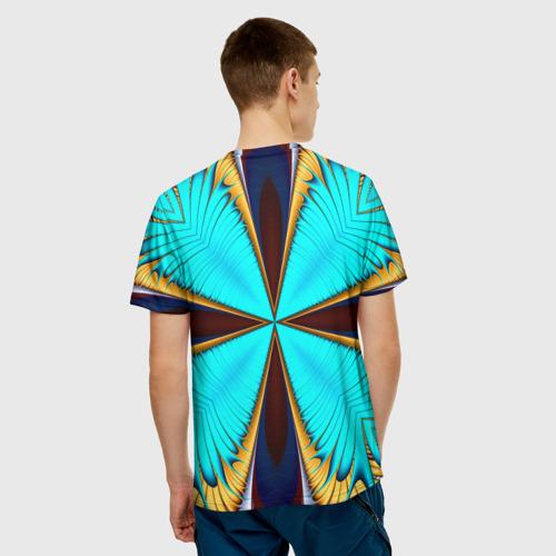 Мужская футболка 3D  Фото 02, Абстрактный узор