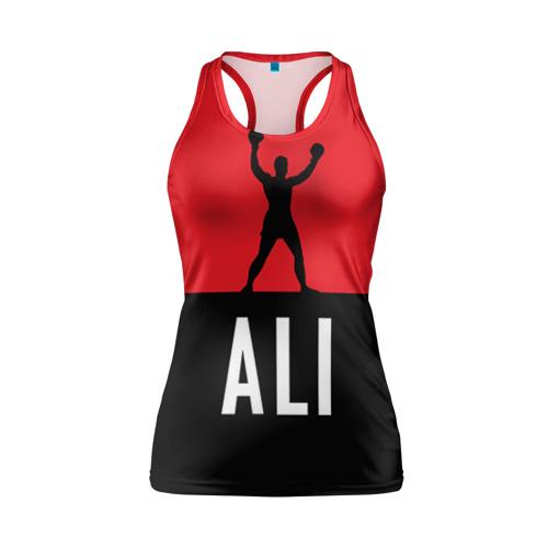 Женская майка 3D спортивная Muhammad Ali 3