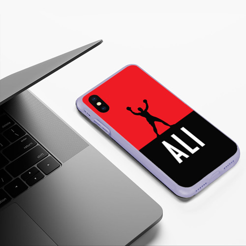 Чехол для iPhone XS Max матовый Muhammad Ali 3 Фото 01