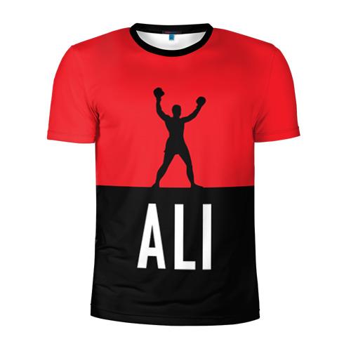 Мужская футболка 3D спортивная Muhammad Ali 3