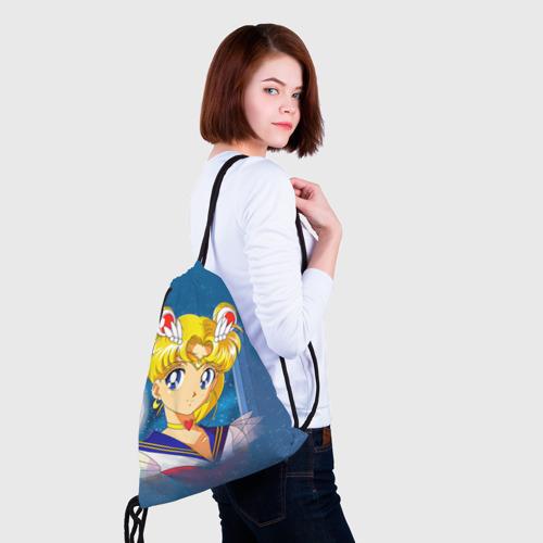 Рюкзак-мешок 3D  Фото 02, Сейлор Мун