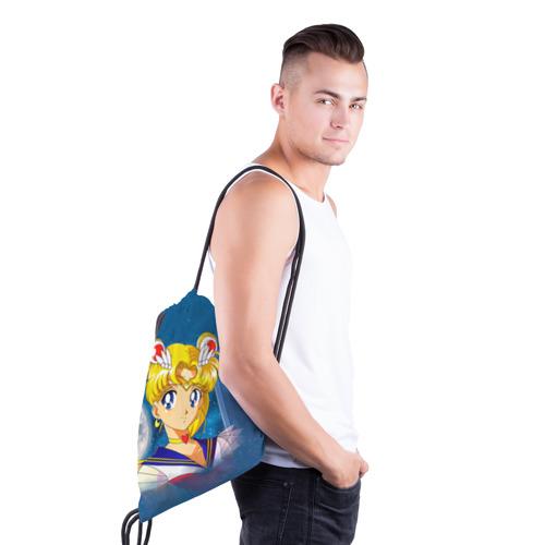 Рюкзак-мешок 3D  Фото 03, Сейлор Мун
