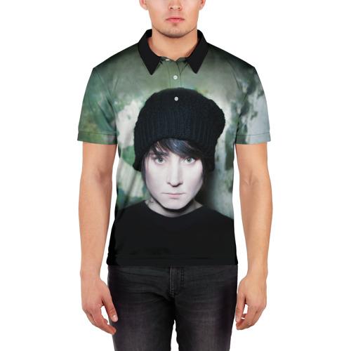 Мужская рубашка поло 3D  Фото 03, Zemfira