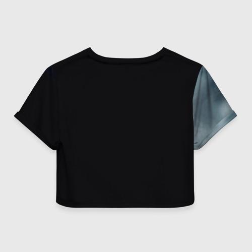 Женская футболка 3D укороченная  Фото 02, Земфира