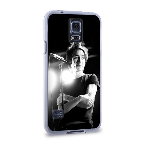 Чехол для Samsung Galaxy S5 силиконовый  Фото 02, Земфира