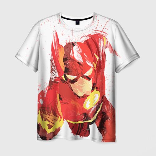 Мужская футболка 3D Флеш