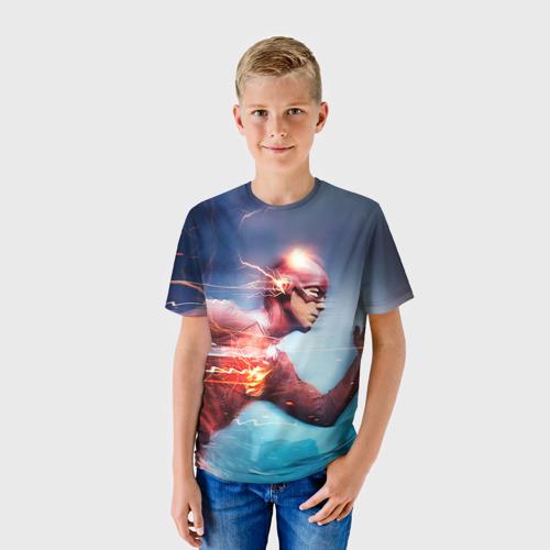 Детская футболка 3D Флеш в пути