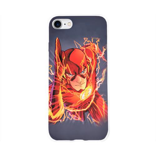 Чехол для Apple iPhone 8 силиконовый глянцевый  Фото 01, Flash
