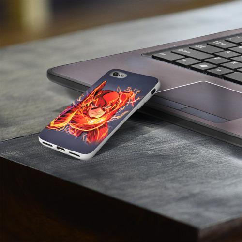 Чехол для Apple iPhone 8 силиконовый глянцевый  Фото 03, Flash