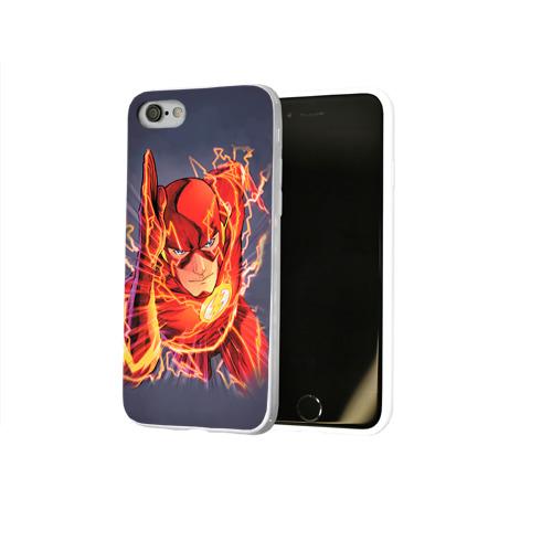 Чехол для Apple iPhone 8 силиконовый глянцевый  Фото 02, Flash