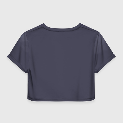 Женская футболка 3D укороченная  Фото 02, Flash