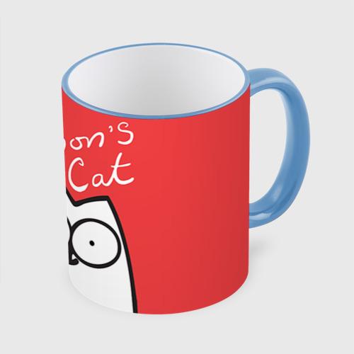 Кружка с полной запечаткой Simon's cat 1