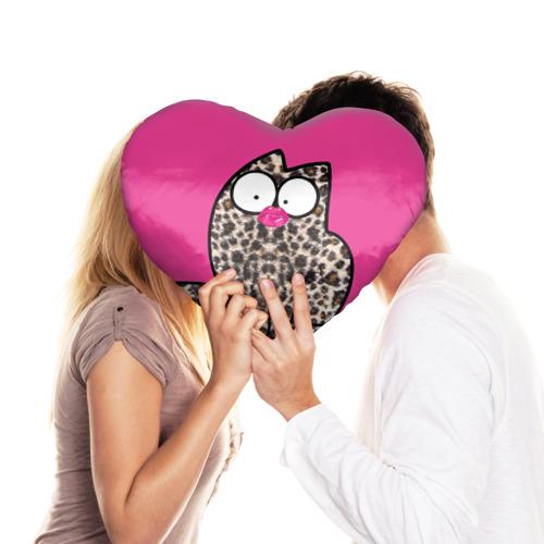 Подушка 3D сердце  Фото 03, Simon's cat 2
