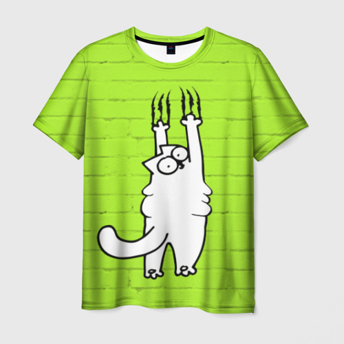 Мужская футболка 3D Simon's cat 3