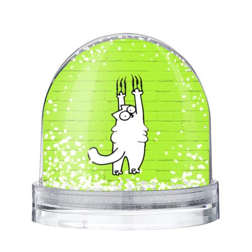 Водяной шар со снегом Simon's cat 3