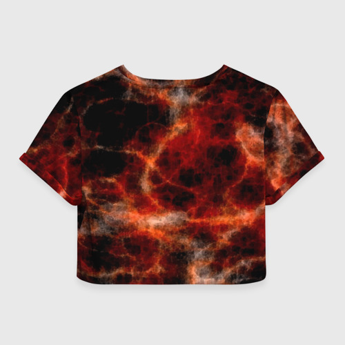 Женская футболка 3D укороченная  Фото 02, Я помню!