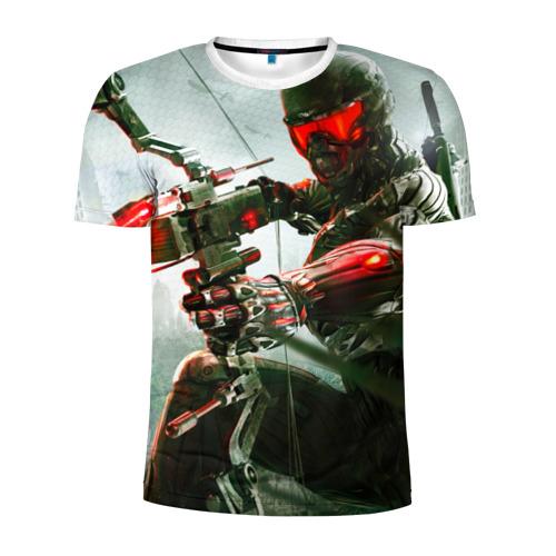 Мужская футболка 3D спортивная  Фото 01, Сrysis