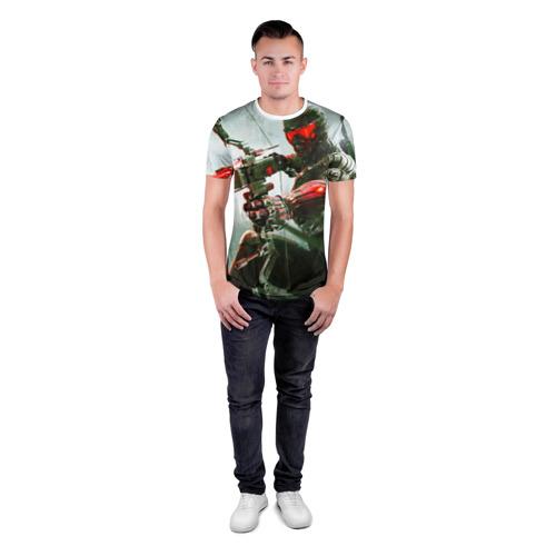 Мужская футболка 3D спортивная  Фото 04, Сrysis