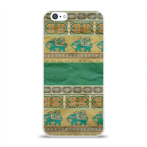Чехол для Apple iPhone 6 силиконовый глянцевый Орнамент