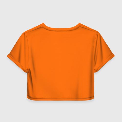 Женская футболка 3D укороченная  Фото 02, Super DJ