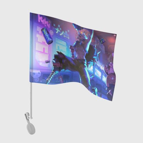 Флаг для автомобиля Runner Фото 01