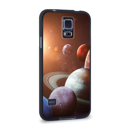 Чехол для Samsung Galaxy S5 силиконовый  Фото 02, Планеты солнечной системы
