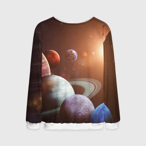 Мужской свитшот 3D Планеты солнечной системы Фото 01