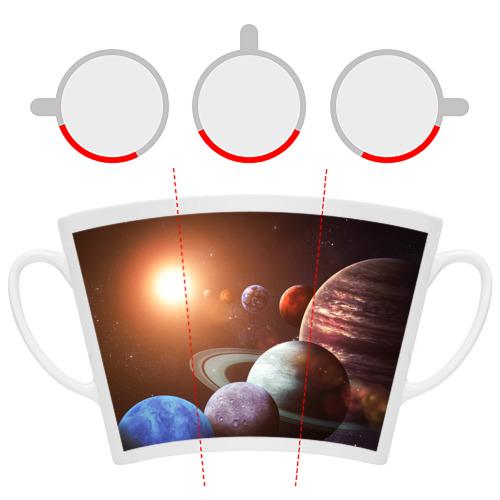 Кружка Латте Планеты солнечной системы Фото 01