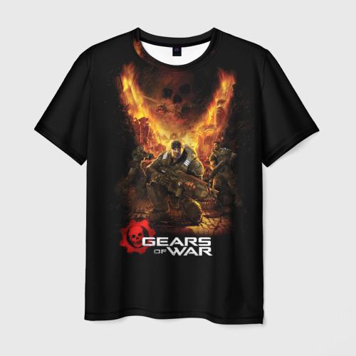 Мужская футболка 3D  Фото 03, Gears of War