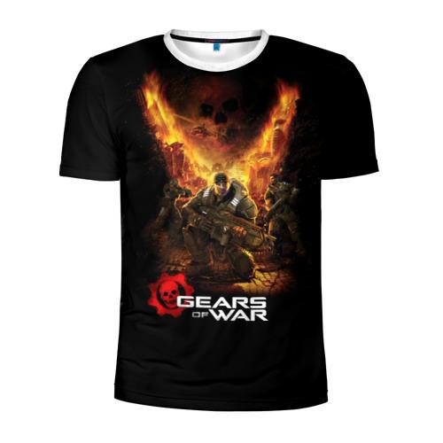 Мужская футболка 3D спортивная Gears of War Фото 01
