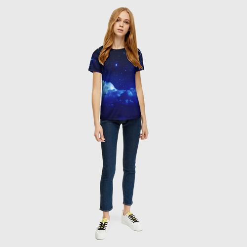 Женская футболка 3D Звёздное небо Фото 01