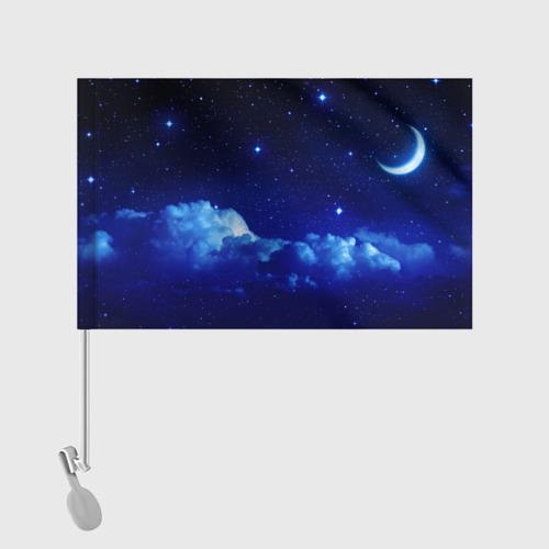 Флаг для автомобиля Звёздное небо Фото 01