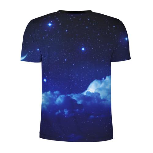 Мужская футболка 3D спортивная Звёздное небо Фото 01