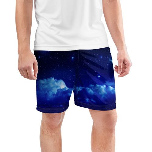 Мужские шорты 3D спортивные  Фото 03, Звёздное небо