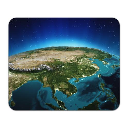 Коврик прямоугольный Земля от Всемайки