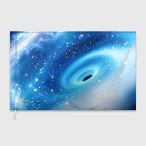 Флаг 3D Неизведанная галактика Фото 01