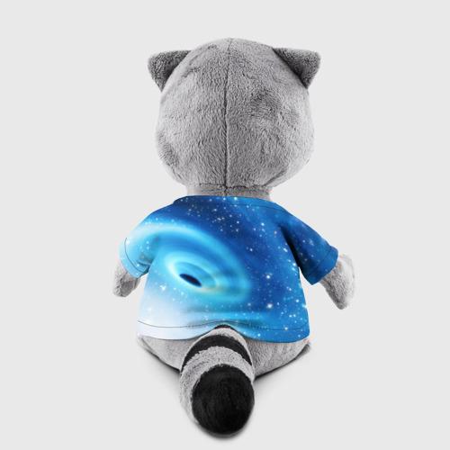 Енотик в футболке 3D Неизведанная галактика Фото 01