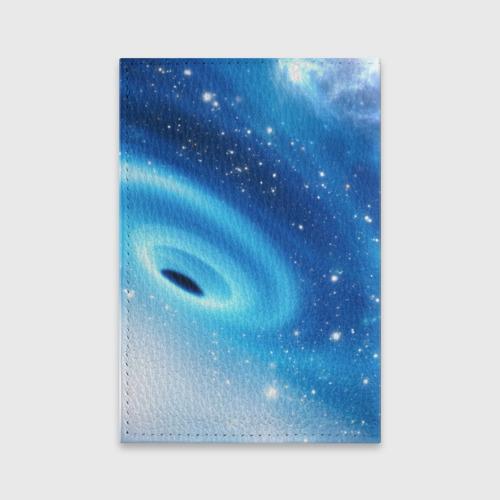 Обложка для паспорта матовая кожа Неизведанная галактика Фото 01