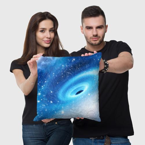 Подушка 3D Неизведанная галактика Фото 01