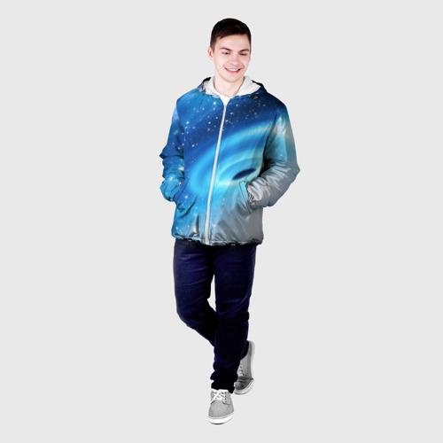 Мужская куртка 3D Неизведанная галактика Фото 01
