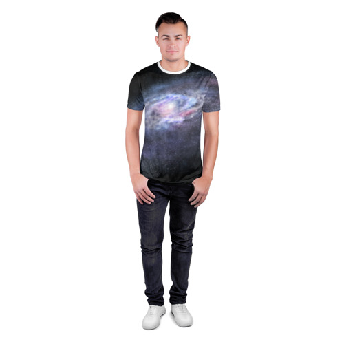 Мужская футболка 3D спортивная  Фото 04, Млечный путь