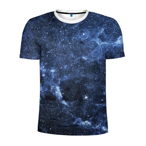 Мужская футболка 3D спортивная  Фото 01, Безмолвный космос