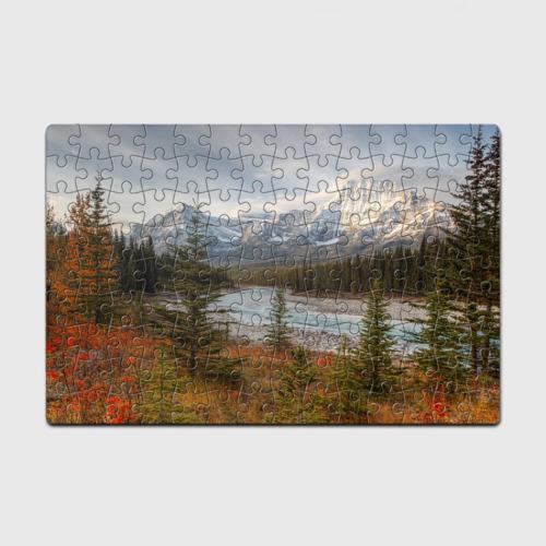 Пазл магнитный 126 элементов  Фото 01, Осень в горах