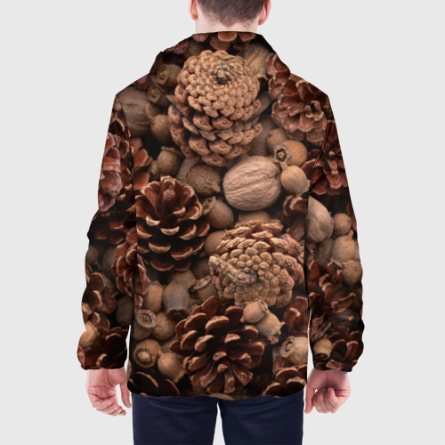 Мужская куртка 3D  Фото 05, Шишки и орешки