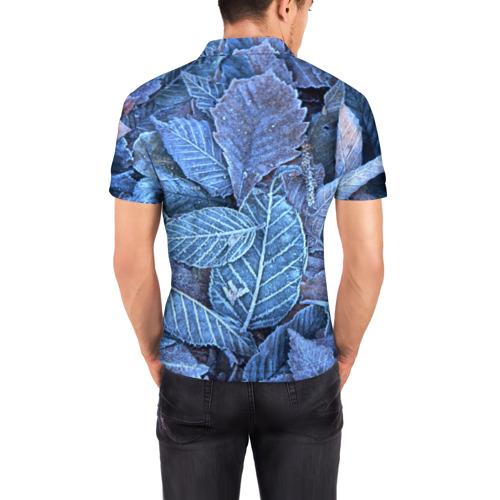 Мужская рубашка поло 3D  Фото 04, Застывшие листья