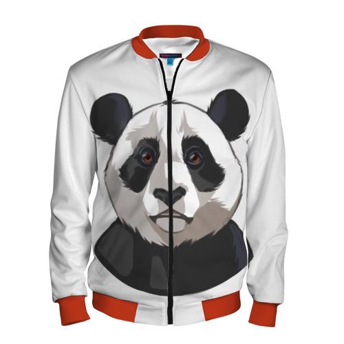 Мужской бомбер 3D  Фото 01, Panda