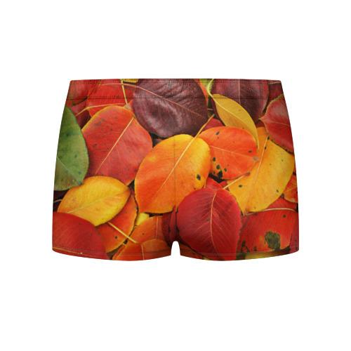 Мужские трусы 3D  Фото 02, Осенний покров